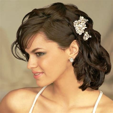 bridal hairstyles for medium hair hairstyle for