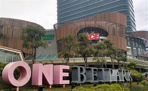 Xxi One Belpark berkunjung ke one belpark tempat mengekspresikan hidup