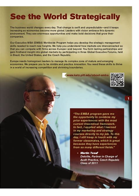 Katz Mba Application by Emba Katz Brochure 2012