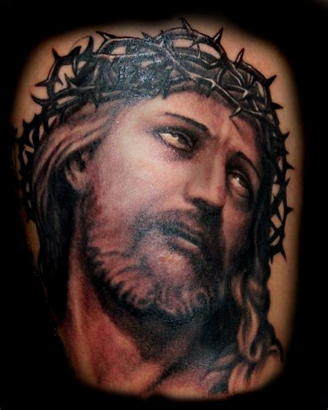 3d jesus tattoo jesus images designs