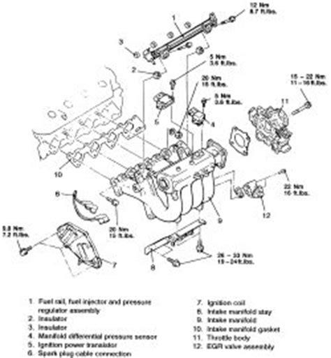 2000 mitsubishi eclipse intake manifold hose diagram 2000