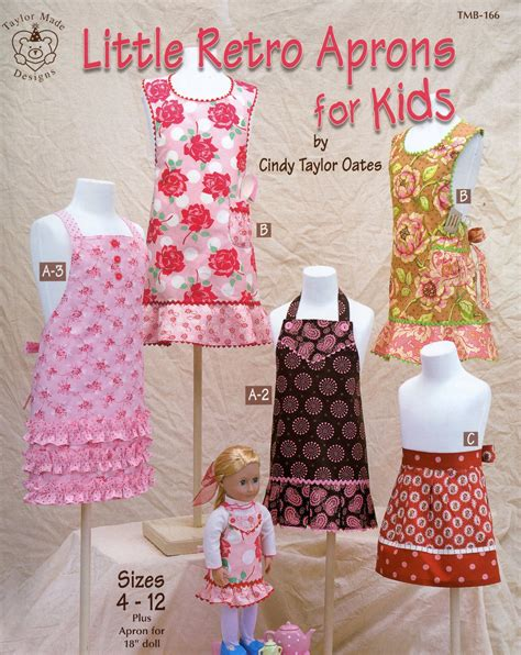 retro apron pattern book little retro aprons by taylor oates cindy
