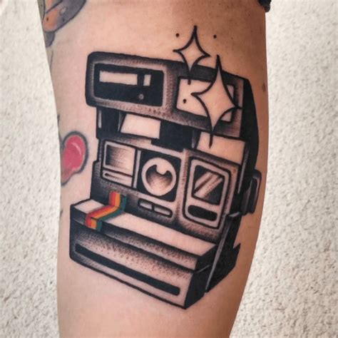 polaroid tattoo designs classic polaroid by coque amo inked