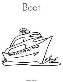 Go Back &gt Gallery For Boat Pictures To Color sketch template