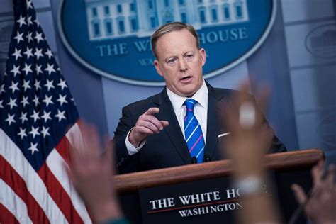 white house news white house press secretary sean spicer shies away from
