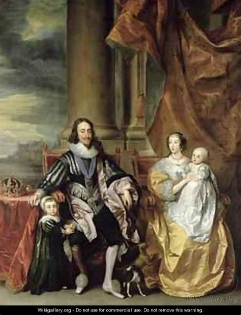 the of henrietta of charles i books king charles i 1600 49 and his family after dyck sir