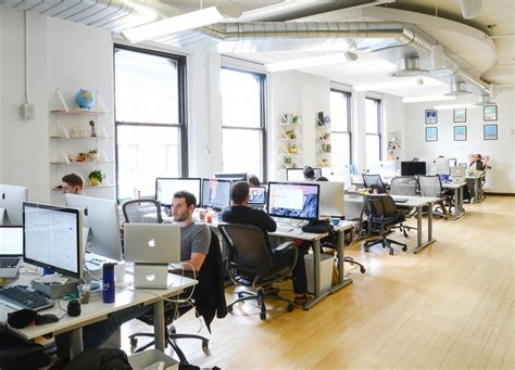 Office by A Peek Inside Seatgeek S New York City Office Officelovin