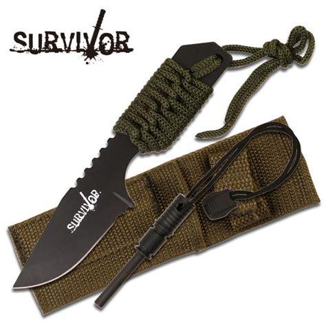 porto d armi uso caccia costo knife coltello da caccia survivor 321 con acciarino fuoco