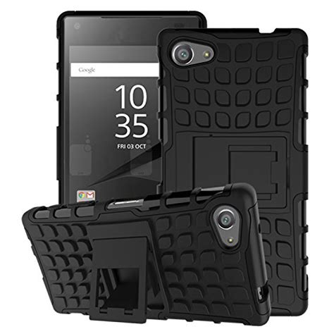 Xperia X Rugged Armor Soft Cover Casing Kickstand Xphase H 1 sony xperia z5 compact moko heavy duty rugged dual import it all