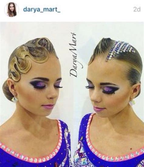best hairstyles voor swimming 99 best images about ballroom hair on pinterest high