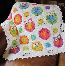 owl obsession crochet blanket patternallcrafts free crafts