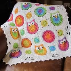 owl obsession crochet blanket patternallcrafts free crafts