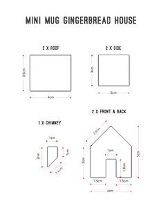 mini gingerbread house template page 001 gingerbread house patterns paper gingerbread
