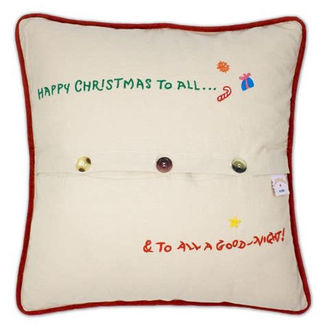 before xl embroidered pillow by