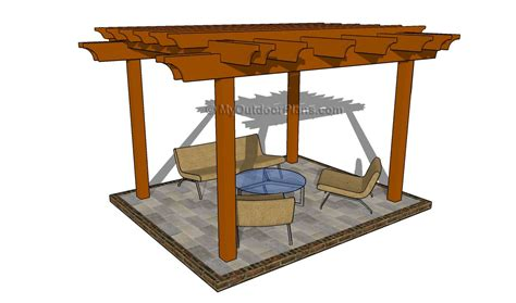free pergola plans plans build a pergola attached to house furnitureplans