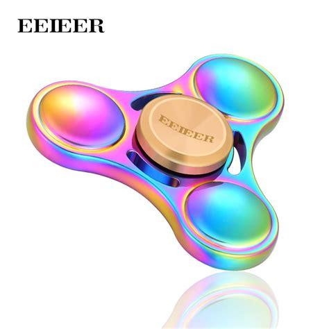 Sale Fidget Spinner 3 Baling Garis aliexpress buy fidget spinner eeieer spinner high speed nsk r3 bearing titanium alloy