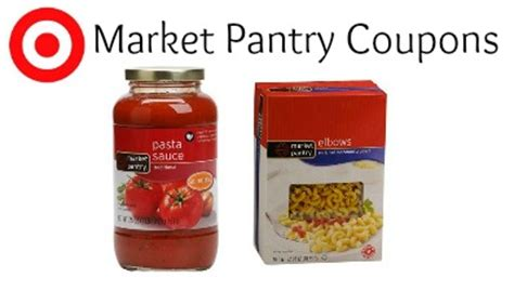 Market Pantry Coupons by Target Market Pantry Coupons Pasta Sauce Less Than 1