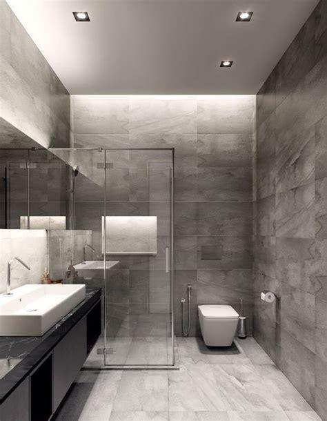 Modern Grey Bathroom Designs by Gri Banyo Modelleri Dekorasyon Cini Banyo Bathroom