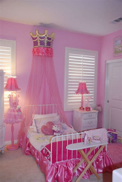 princess bedroom hot pink princess room princess bedroom pinterest