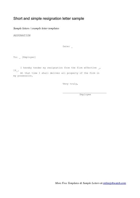 letter resignation format enwurf csat co