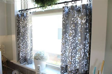 Sew Kitchen Curtains How To Make No Sew Curtains 28 Diys Guide Patterns