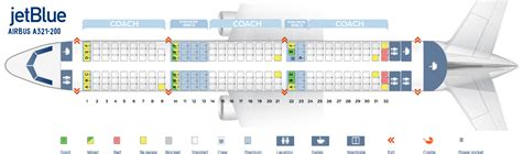 airbus a321 cabin layout seat map airbus a321 200 quot jetblue quot best seats in plane
