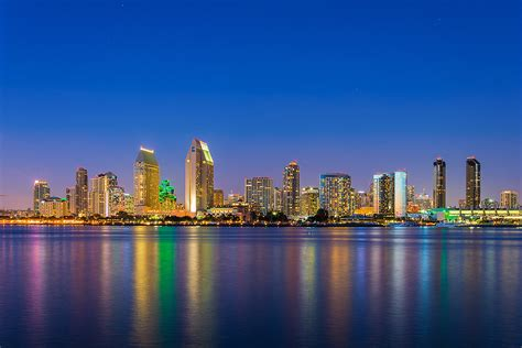 San Diego by San Diego Tours San Diego City Lights At