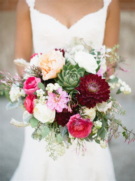 Garden Style Wedding Bouquets Weddings Romantique Garden Wedding Flowers