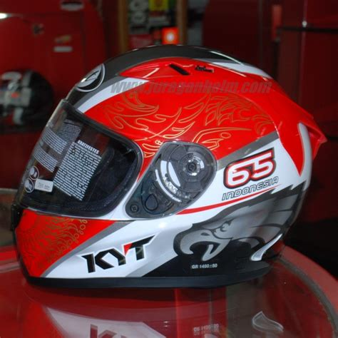 Helm Kyt Rocket White Black helm kyt rc seven 5 black grey the superstore shop
