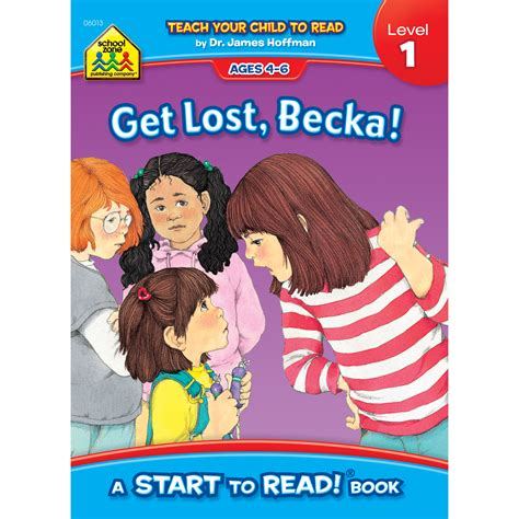 School Zone Start To Readlevel 1 Readers get lost becka a start to read book level is a look at sibling rivalry school zone