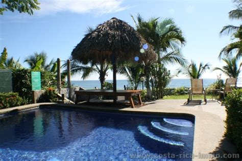 backyard hotel costa rica beachfront hotel and bar for sale at playa hermosa jaco