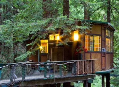 airbnb tiny house california tiny treehouse cabin in the redwoods