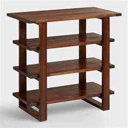 tisch regal sadler shelf table world market