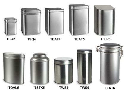 White Canisters For Kitchen tea tin metal containers wholesale amp bulk specialty bottle