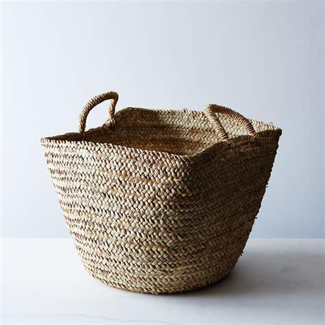 Handwoven Moroccan Basket on Food52