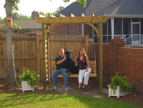 pergola swing plans front porch pergola designs home design ideas