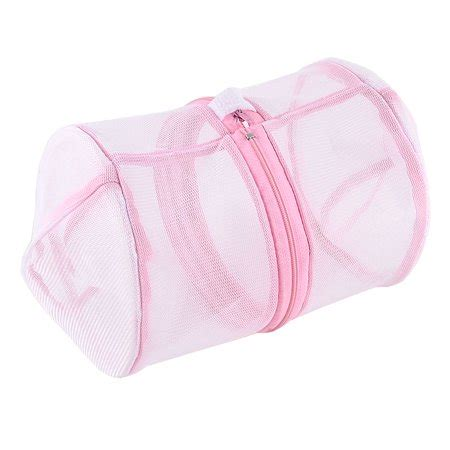 Laundry Bra Pink laundry bra clothes mesh wash basket bag pink