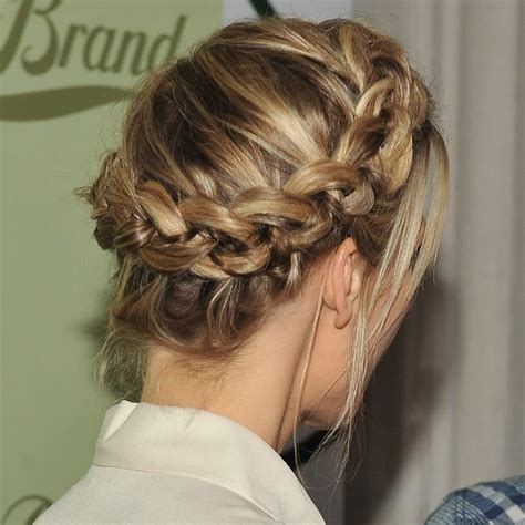 how to do full crown hairstyles celebrity crown braids 2013 popsugar beauty