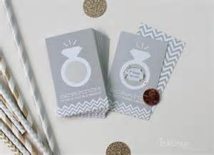24 scratch cards for bridal shower or by inklingspaperie