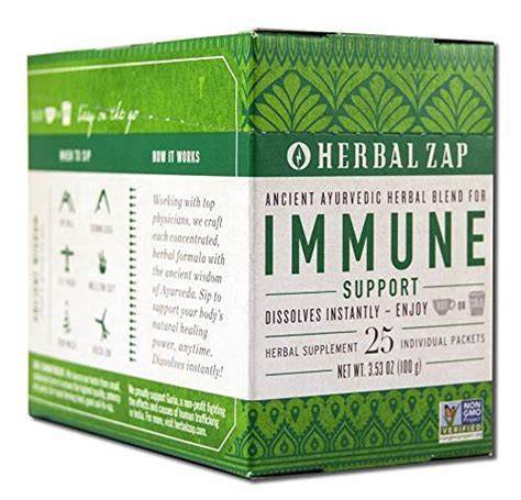 Detox Herbal Zap by Herbal Zap Quot Digestive Immune Support Quot 25 Count Box