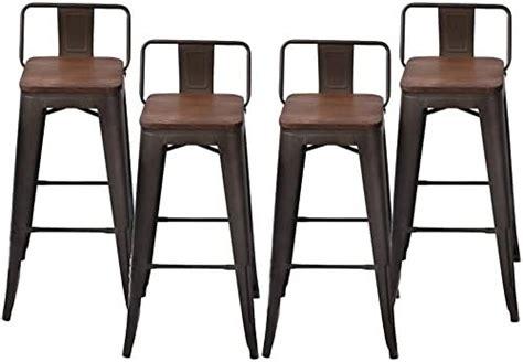 changjie furniture industrial metal bar stool indoor