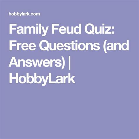 epl questions and answers family feud surveys and answers pictures to pin on