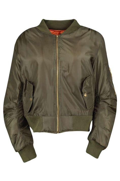 Bomber Jaket boohoo womens khloe ma1 bomber jacket