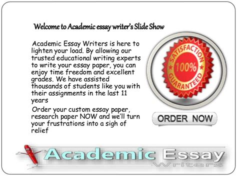 Custom Academic Essay Writer Website by Writer Services Essentials Of The Essay