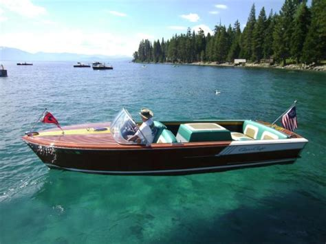 chris craft boats for sale lake tahoe boats for sale