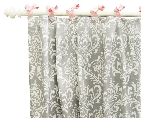 Stella Gray Curtain Panels Set Of 2 By New Arrivals Inc