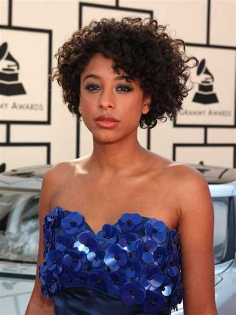 short cuts curly hair mixed 15 short curly hair for round faces short hairstyles