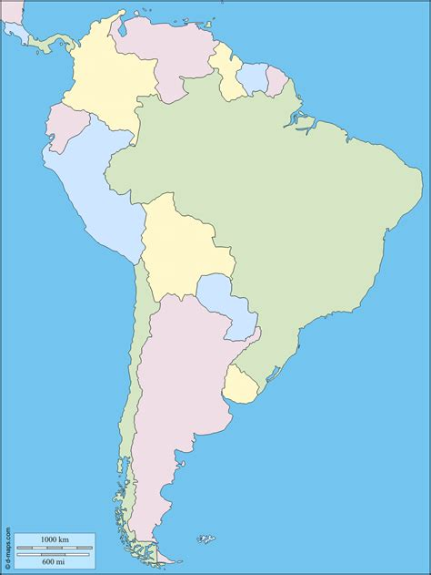 south america map free south america free map free blank map free outline map