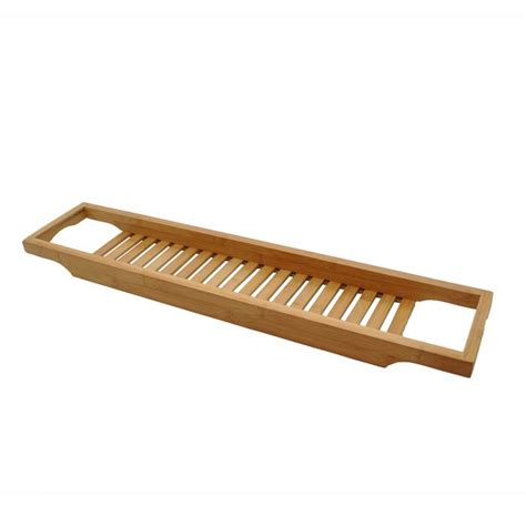 bathtub caddy ikea slim thin bamboo wooden bath bridge roman at home